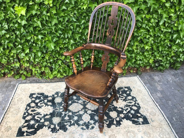 Antieke: Windsor-chair [ST80] Image